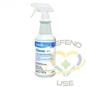 Glance Ready To Use Glass & Multi-Surface Cleaner, 2 Triggers - 12/946ml, Case