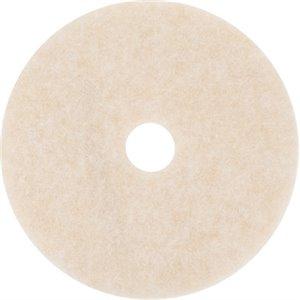 "Floor Pad - Beige Topline Speed Burnish Pad 21"" 5/cs[F-3200-BGE-21],5/CS, Price Per Case"