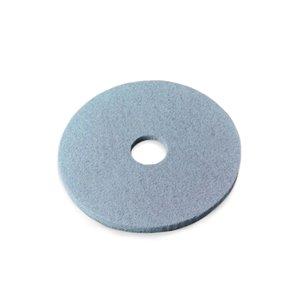 "Floor Pad - Aqua Burnish Pad 21"" 5/cs[F-3100-AQU-21],5/CS, Price Per Case"