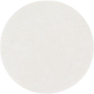 "Carpet Bonnet Pad White 19"" 5/cs[F-08606-19],5/CS, Price Per Case"