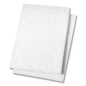 "Niagara Light Duty Scouring Pad 6""x9"" - White 20/cs[H-98N-6X9],20/CS, Price Per Case"