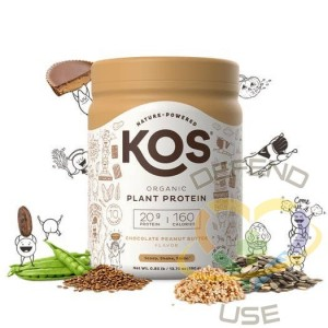 Organic Plant Protein Powder - Chocolate Peanut Butter 10, Case of 6