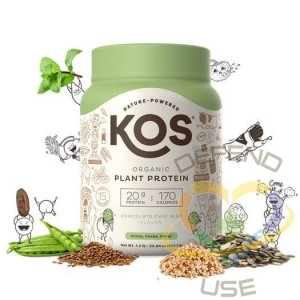 Organic Plant Based Protein Powder - Chocolate Chip Mint 15, Case of 6
