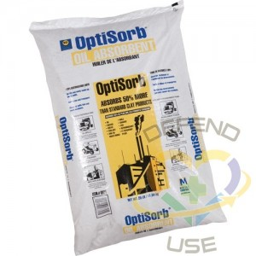 Optisorb Absorbent,Format: 25-lb. Bag,Qty/Pkg.: 1