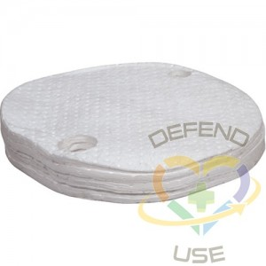 Drum Cover Absorbent Pads,Spill Type: Oil Only,Absorbency/Pkg.: 10 gal.