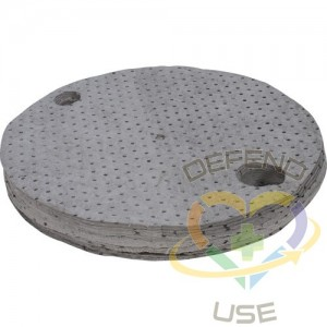Drum Cover Absorbent Pads,Spill Type: Universal,Absorbency/Pkg.: 10 gal.