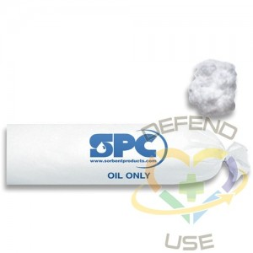 "SPC Absorbent SOCs, Oil Only, 12 gal. Absorbancy, 3"" W x 8' L, Pack of 6,,"