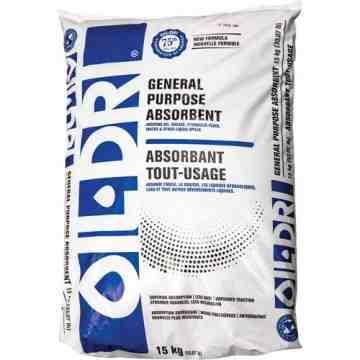 Oil-Dri General-Purpose Absorbents,Size: 33 lbs. (15 kg),