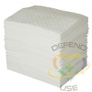 """SPC MAXX Absorbent Pad, Oil Only, 15"""" x 19"""", 30 gal. Absorbancy, 100 /Pack,Weight: Mediumweight,"""