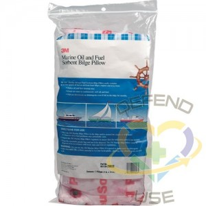 """Marine Oil and Fuel Absorbent Bilge Pillow,Spill Type: Oil Only,Length: 15"""""""