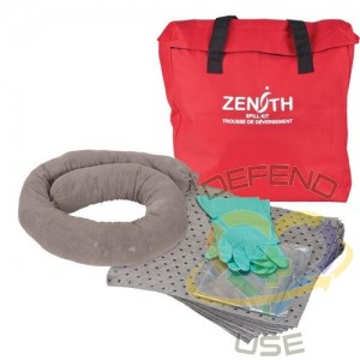 Economy Spill Kit, Universal, Bag, 5 US gal. Absorbancy