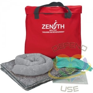 Eco-Friendly Spill Kit, Universal, Bag, 10 US gal. Absorbancy