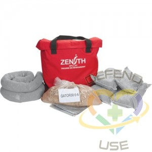 Service Vehicle Spill Kit, Universal, Bag, 10 US gal. Absorbancy