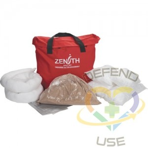 Service Vehicle Spill Kit, Oil Only, Bag, 10 US gal. Absorbancy