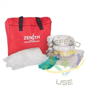 Eco-Friendly Truck Spill Kit, Oil Only, Bag, 10 US gal. Absorbancy