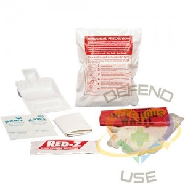 Fluid Spill Clean-Up Kit, Hazmat, Bag