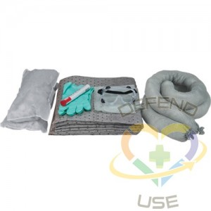 10-Gallon Vehicle Spill Replacement Kits, Universal