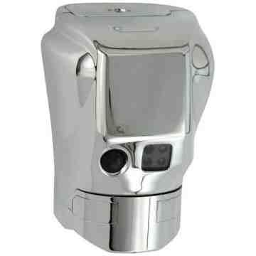 AutoFlush Clamp Metal w/Manual Flush for Toilet, Case: 1