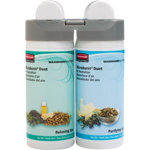 Microburst Duet Refill - Purifying/Relaxing Spa, Case: 4
