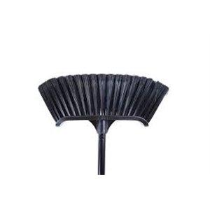 "Broom - Magnetic Premium Curved 14"" w/48"" Metal Handle"