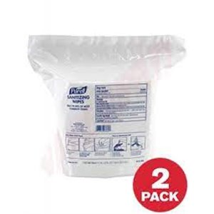 Purell Alcohol-Free Hand Sanitizing Wipes Refill, Packet, Pack of 1700