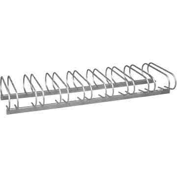 PARCO  Style Bicycle Rack, Galvanized Steel, 8 Bike Capacity - 1