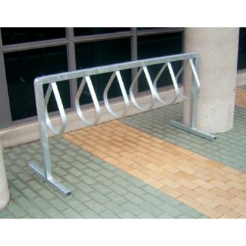 PARCO  Style Bicycle Rack, Galvanized Steel, 12 Bike Capacity - 1