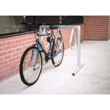PARCO  Style Bicycle Rack, Galvanized Steel, 6 Bike Capacity - 1