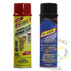 Nu-View Concession/Equipment Cleaner, NSF, Case of 6x20oz - 1