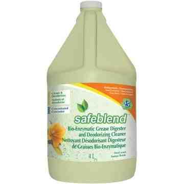 SAFEBLEND  Bioenzymatic Grease Digester & Deodorizing Cleaners, 4 L/4.0 L - 1