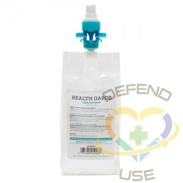 Health Gards™ Toilet Seat Cleaner refill, 500 ml (SC500TSC) 12/cs,Case: 12 - 1
