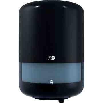 "TORK  Advanced® Roll Dispenser, Center-Pull, 9.4"" W x 9"" D x 14.4"" H Colour: Black - 1"