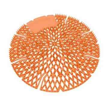 Diamond 3D/Pearl Urinal Screen 10/pk Dk Orange - Mango Bay - 1