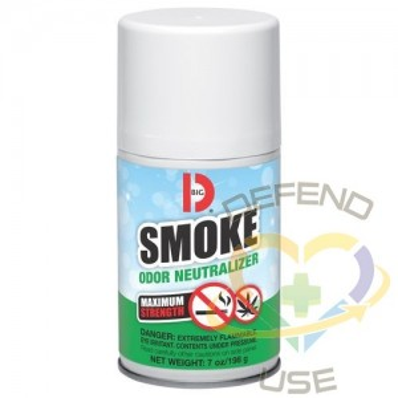 Room Deodorizer, Smoke, Aerosol Concentrated 7.5oz 12/pk - Smoke Ordor Neutralizer - 1