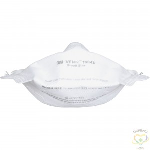 3M  VFlex™ Healthcare Particulate Respirator and Surgical Mask, N95, NIOSH Certified, Small, Box of 50 - 1