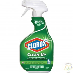 CLOROX  Clean-Up® Disinfectant Bleach Cleaner, Trigger Bottle, 946 ml - 1