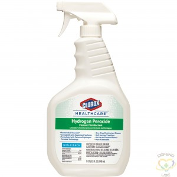 CLOROX  Healthcare® Hydrogen Peroxide Spray, Trigger Bottle, 946 ml - 1