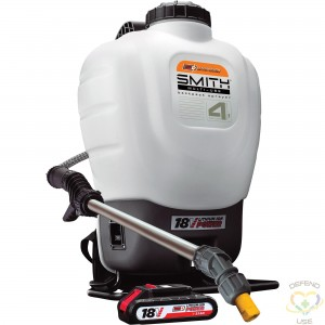 SMITH PERFORMANCE SPRAYERS  Multi-Use Disinfecting Back Pack Sprayer, 4 gal. (15.1 L) - 1