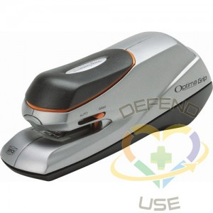Optima Grip Electric Staplers, Sheet Capacity: 20,Colour: Silver,,