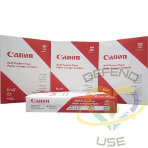 """Multi Purpose Copy Paper, Sheet Size: 8-1/2"""" x 11"""",Colour: White,Type: Regular,Paper Weight: 20 lbs."""