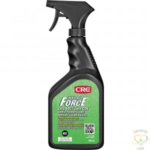 CRC CANADA  HydroForce® Zero VOC General Purpose Cleaners, Trigger Bottle Container Size: 946 ml - 1
