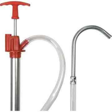 Pail Type Pump, Fits 5 gal., 2 oz./Stroke Body Material: Steel - 1