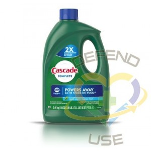 Cascade - Complete Gel - Fresh Scent, Case of 4/3.54L - 1