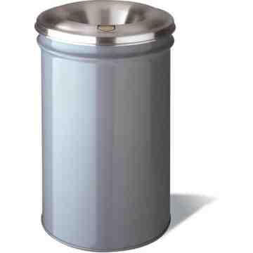 Cease-Fire Waste Garbage Cans, Metal, 15 US gal.