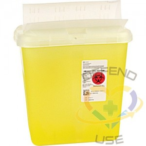 Sharps Container,Capacity: 2 gal
