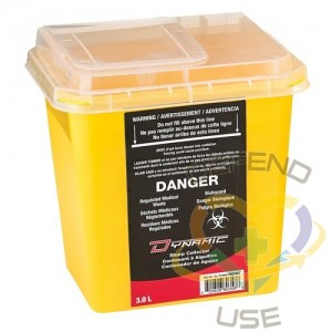 Sharps Container,Capacity: 3 L