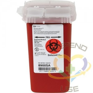 Phlebotomy Sharps Container,Capacity: 1 L