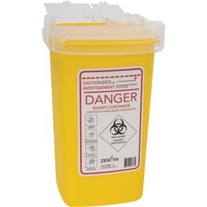 Sharps Container,Capacity: 1 L