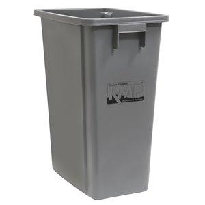 Recycling & Garbage Bin, Plastic, 16 US gal.