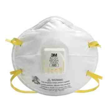 3M  8210V Particulate Respirators, N95, NIOSH Certified, Box/10 - 1